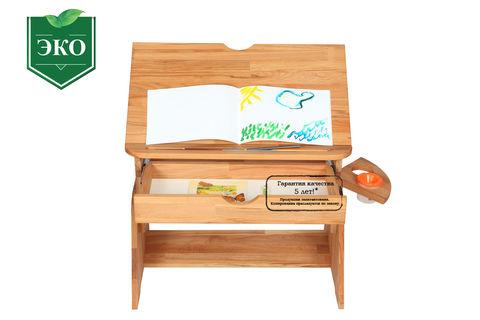 Парта-мольберт Школярик с выдвижным ящиком  С470-1