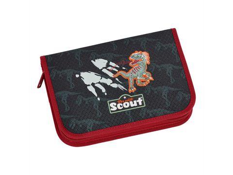 Ранец Scout Sunny EXKLUSIV с наполнением 4 предмета - Укус динозавра