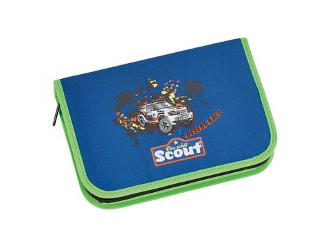 Ранец Scout Sunny EXKLUSIV с наполнением 4 предмета - Гонки в пустыне