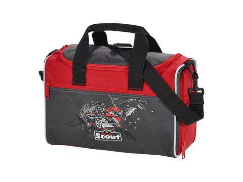Ранец Scout Sunny EXKLUSIV с наполнением 4 предмета - Бэтмобиль