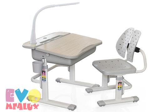 Комплект парта и стульчик Mealux EVO-03 (с лампой)