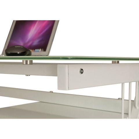 Компьютерный стол Rifforma CT-3365DG (стекло)