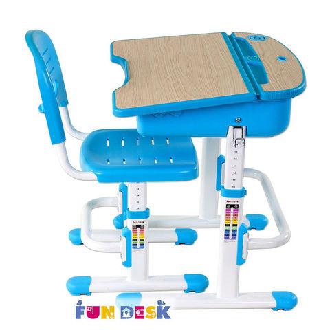 Детская парта и стул для дома Fundesk Capri