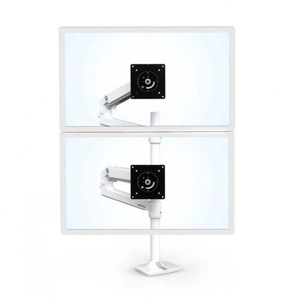 Ergotron Двойное настольное крепление (белый) 45-509-216