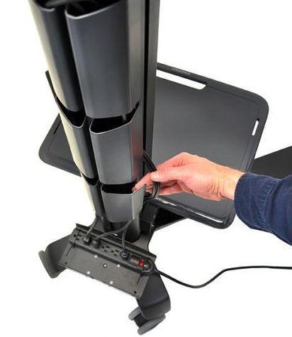 Ergotron Neo-Flex MediaCenter мобильная стойка LHD 24-190-085