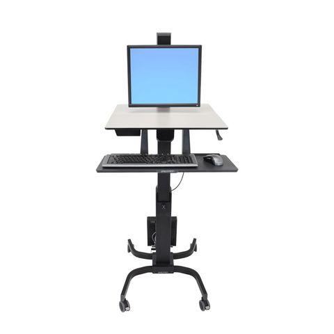 Ergotron WorkFit-C Мобильное рабочее место для монитора до 30 дюймов 24-216-085
