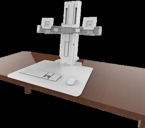 Ergotron WorkFit-SR Рабочее место для двух мониторов