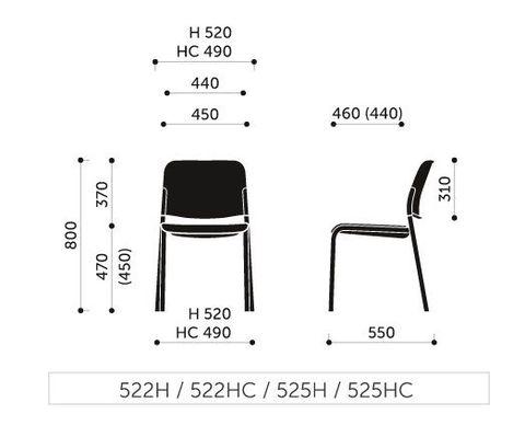 Кресло посетителя Zoo 525HC