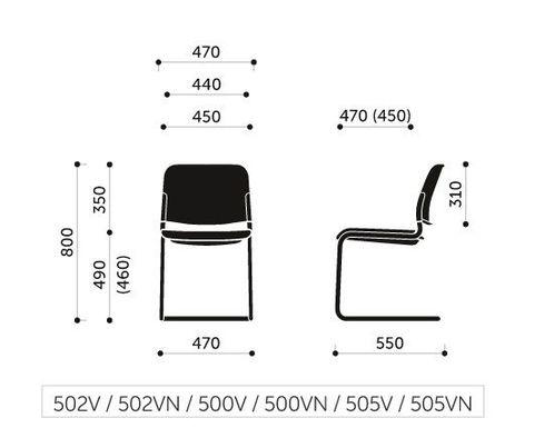 Кресло посетителя Zoo 500VN