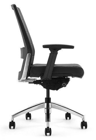Кресло руководителя Andico LB (черная кожа)