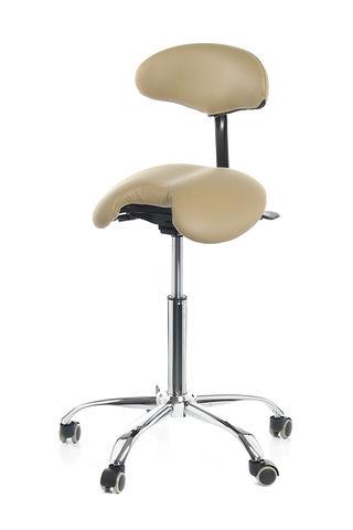 Мужской стул-седло Smartstool SM03B со спинкой