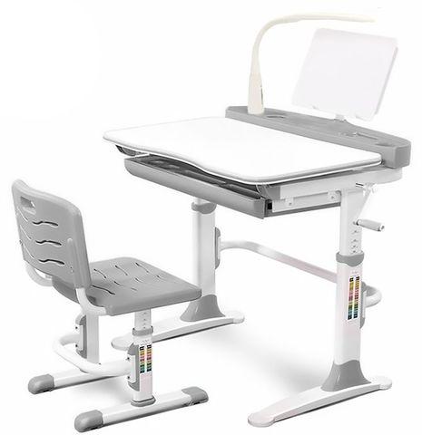 Комплект парта и стульчик Mealux EVO-19 (с лампой)