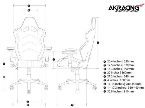 Геймерское кресло AKRacing Player