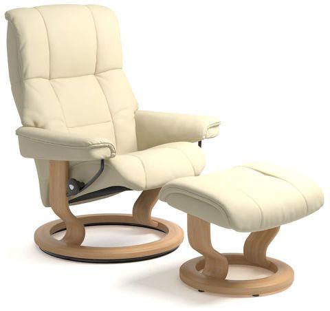 Кресло-реклайнер с пуфом Mayfair Classic Set