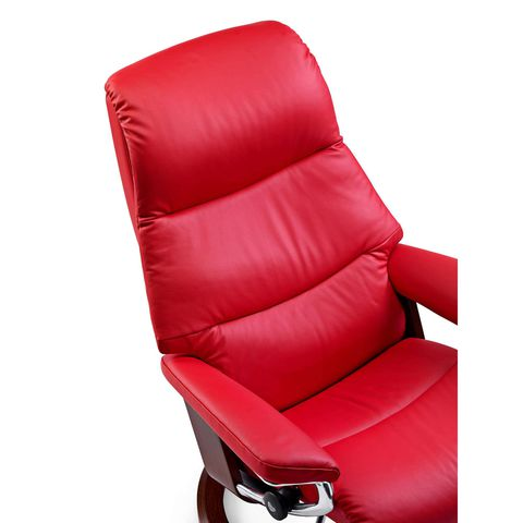 Кресло-реклайнер с пуфом View Signature Set