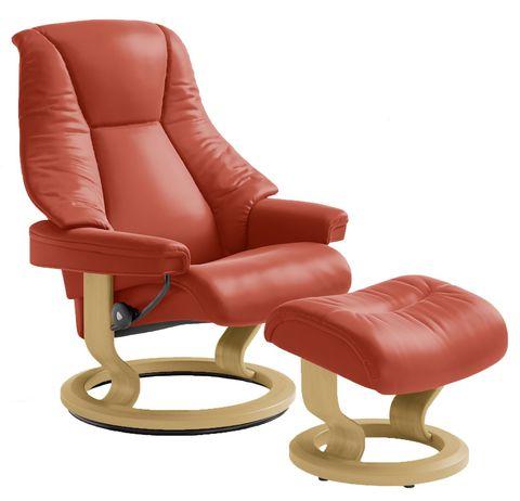 Кресло-реклайнер с пуфом Live Classic Set