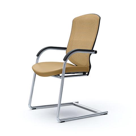 Посетительское кресло Contessa Guest (кожа)