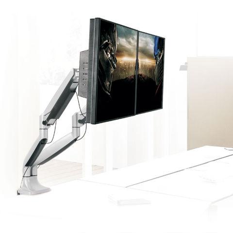 Настольный кронштейн для двух мониторов LCD-T32