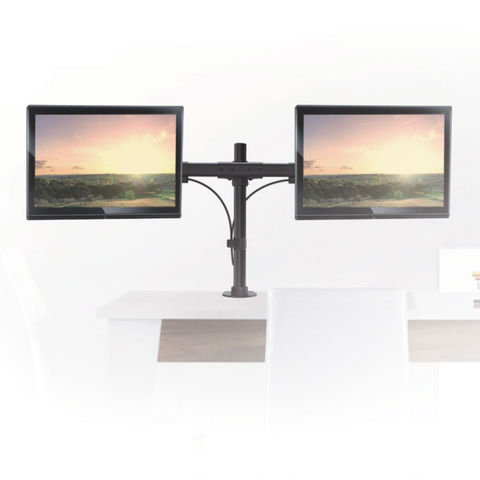 Настольный кронштейн для двух мониторов LCD-T42