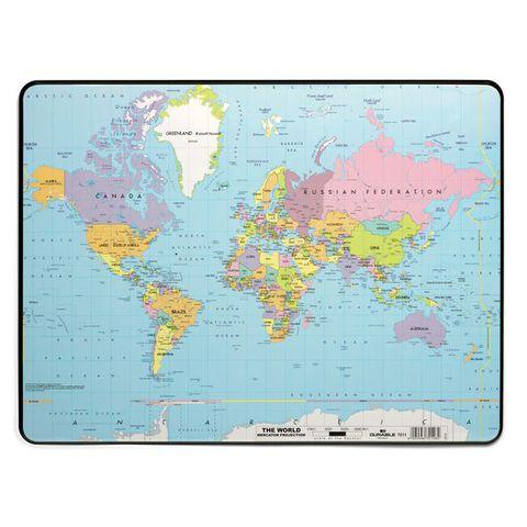 Настольное покрытие Карта мира