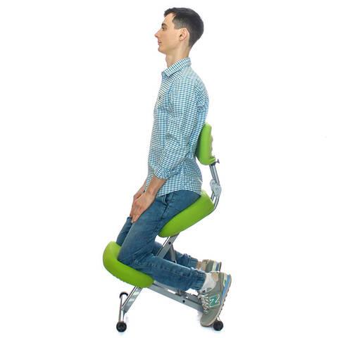Стальной стул с упором в колени Smartstool KM01BM