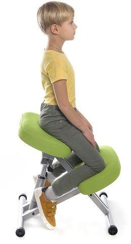 Металлический коленный стул с газлифтом Smartstool KM01L