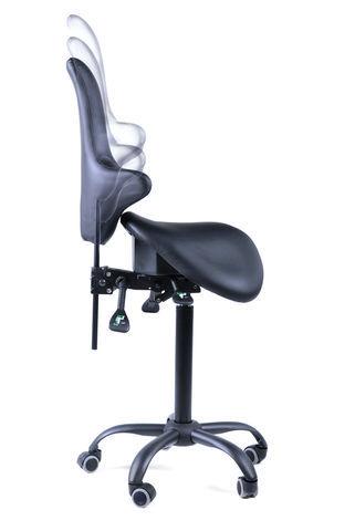 Раздвоенное кресло-седло со спинкой EZDuo Back Home