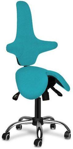 Кресло-седло со спинкой Gravitonus EZSolo Back Home