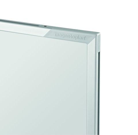 Белая эмалевая магнитно-маркерная доска серии СС Magnetoplan 2400x1200 мм.