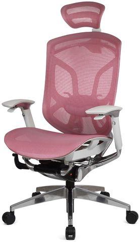 Эргономичное кресло Dvary на светлом каркасе