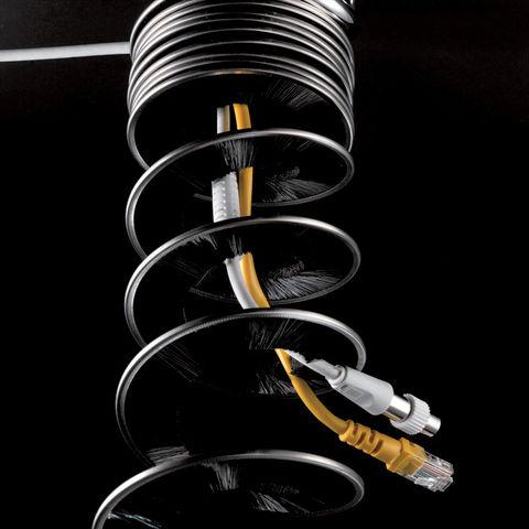Вертикальный кабель-канал Helix