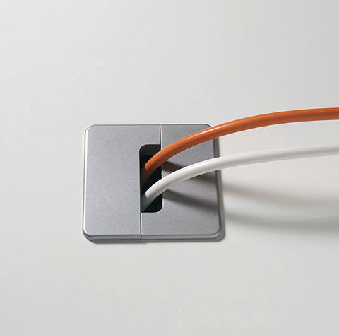 Квадратная заглушка алюминиевая GMT