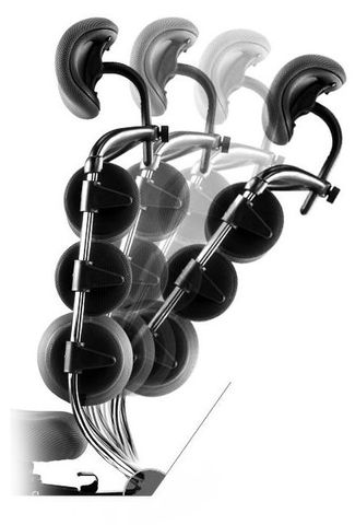 Компьютерное анатомическое кресло Pascal