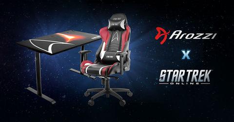 Компьютерное игровое кресло Arozzi Star Trek Edition
