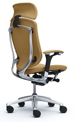 Эргономичное кожаное кресло Okamura Contessa II