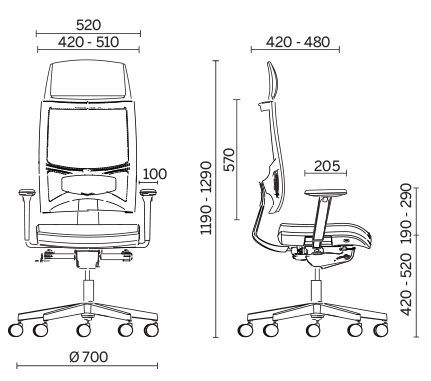 Кресло для руководителя Sitland Team Strike Executive
