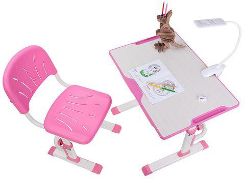 Комплект растущая парта и стул Cubby Lupin