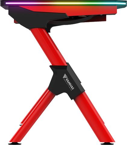 Геймерский стол Gamdias Dedalus M1 с RGB-подсветкой
