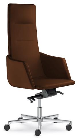 Кресло руководителя кожаное LD seating Harmony
