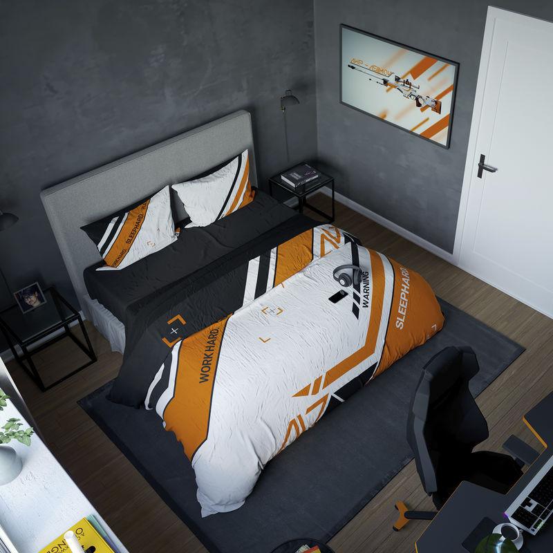 Геймерское постельное бельё SleepHard Asiimov