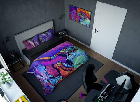 Геймерское постельное бельё SleepHard HyperBeast