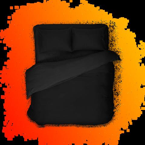 Геймерское постельное бельё SleepHard The Black One