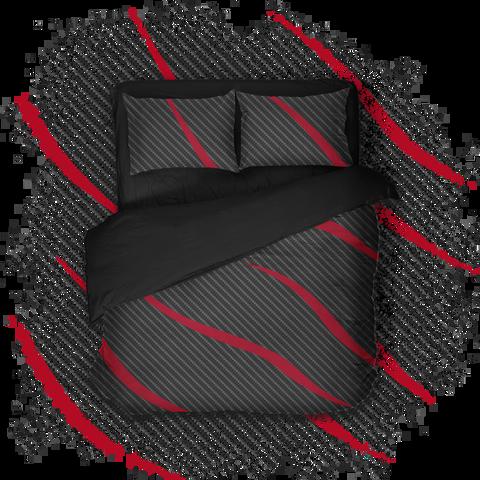 Геймерское постельное бельё SleepHard Redline