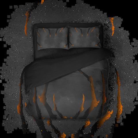 Геймерское постельное бельё SleepHard Sleep by Daylight