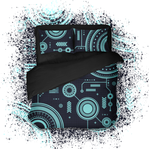 Геймерское постельное бельё SleepHard Hi-Tech