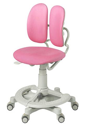 Кресло Duorest Kids 218A Розовая эко-кожа