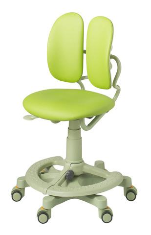 Кресло Duorest Kids 218A Зеленая эко-кожа