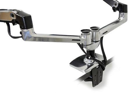 Ergotron LX Dual Side-by-Side Arm Двойное настольное крепление 45-245-026