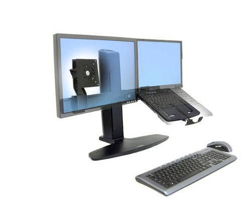 Ergotron Neo-Flex Lift Комбо-стенд для монитора и ноутбука, черный 33-331-085