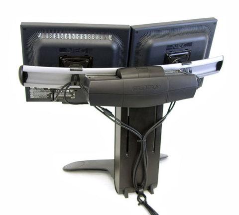 Ergotron Крепление LX Lift Stand для двух мониторов 33-299-195